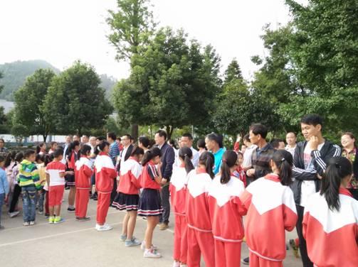 朝天:羊木镇国旗献礼教师节小学下举行初中小学秦淮区图片